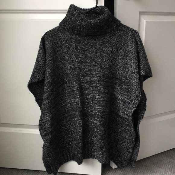 Apt. 9 Tops - Turtleneck knit cape